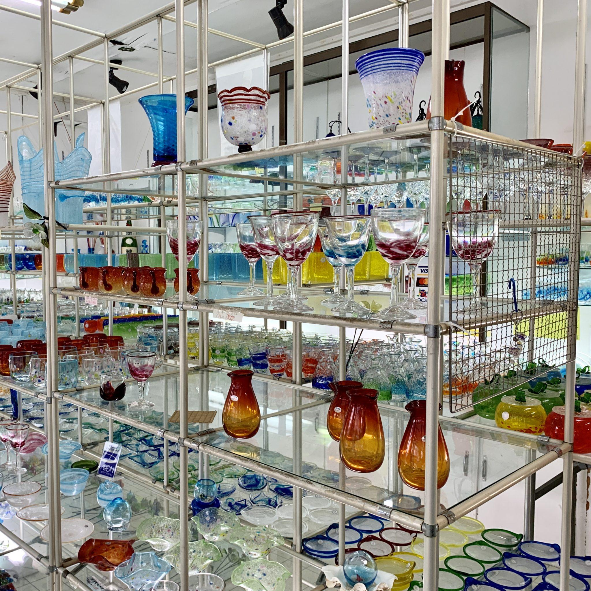石垣島でオリジナルのガラス作り🌟