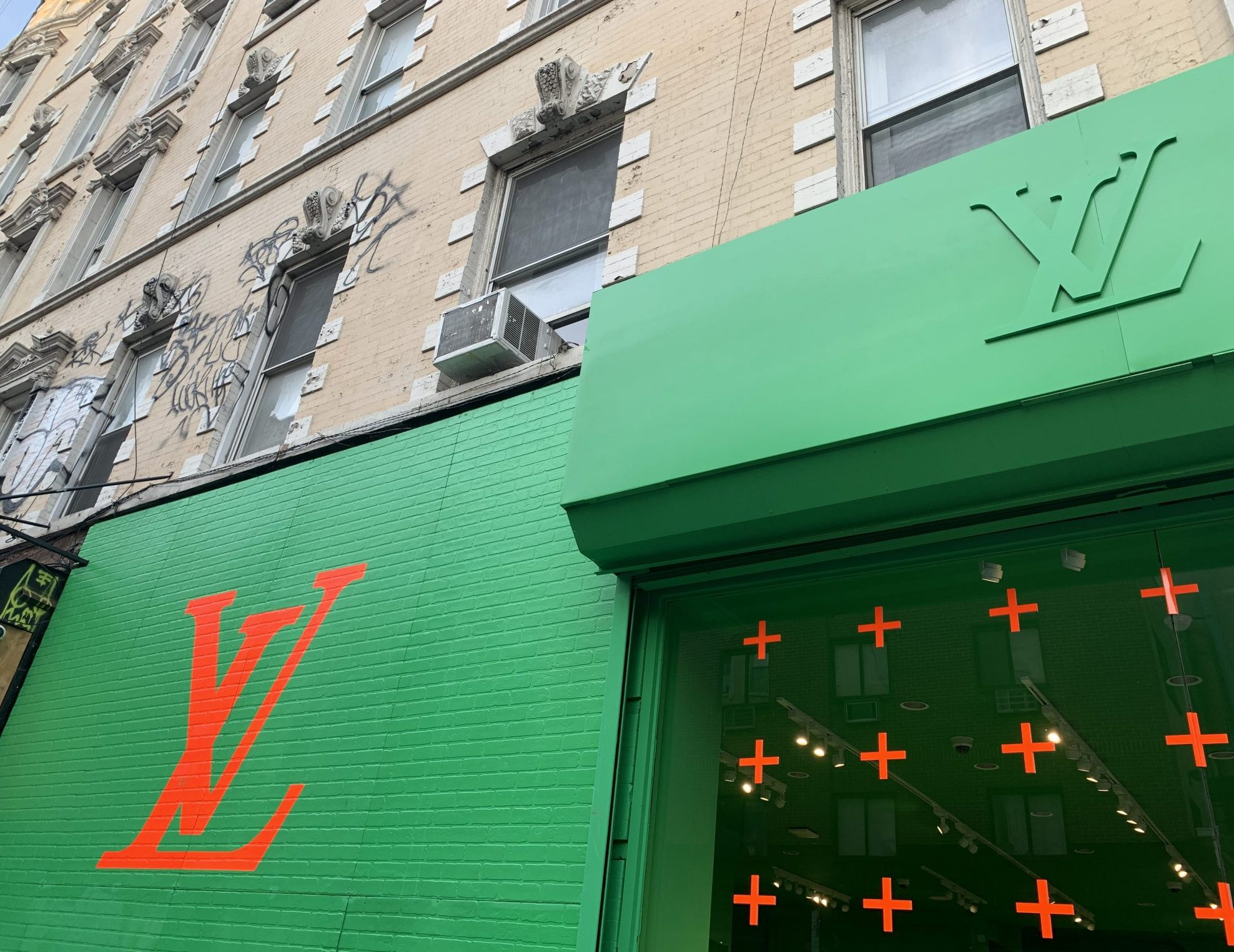 ルイヴィトン POP-UP in NYC #LV #Louisvuitton
