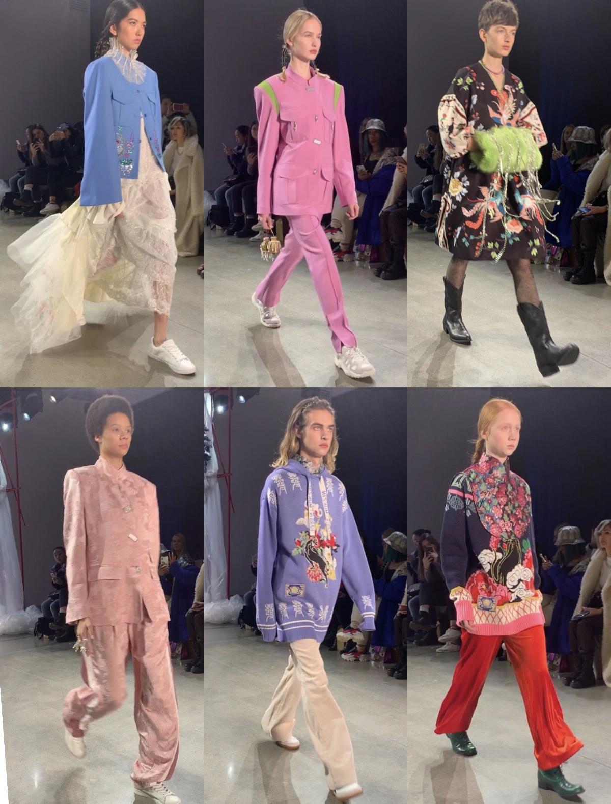 Mukzin×Harbin FW2020 #nyfw #ニューヨークファッションウィーク