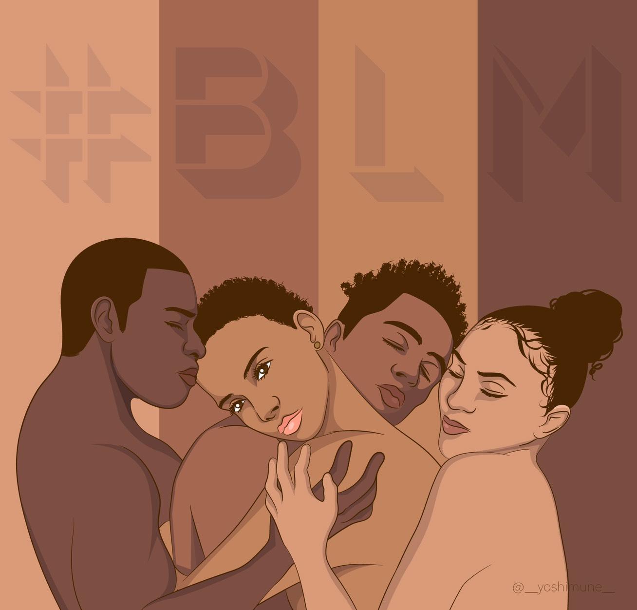 今アメリカで起こっていること #BlackLivesMatter #blm