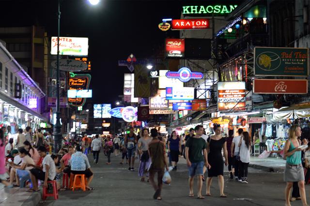 ディープなKhaosan Road #カオサンロード #バックパッカーパラダイス
