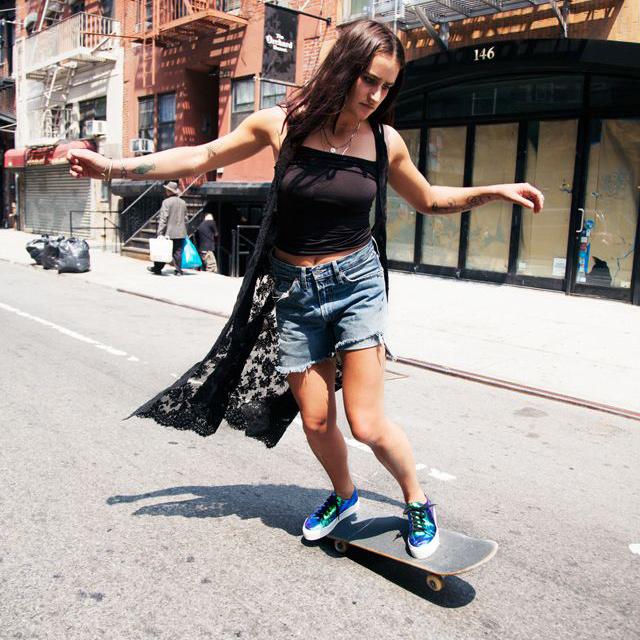 Girls Skater×Fashion 型に囚われないガールズスケートスタイル #Skateboard