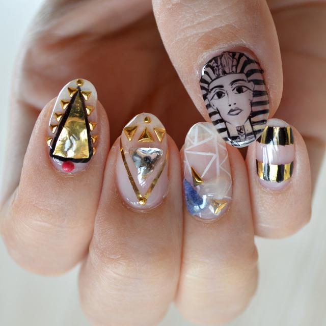 2015 Hair and Nail Collection #今年のヘアとネイルまとめ #haircolor #nail