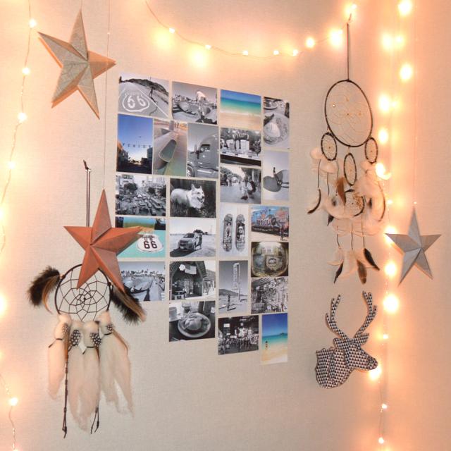 新年の模様替えに。少ない材料でハンティングトロフィーを簡単にDIY #DIY #myroom