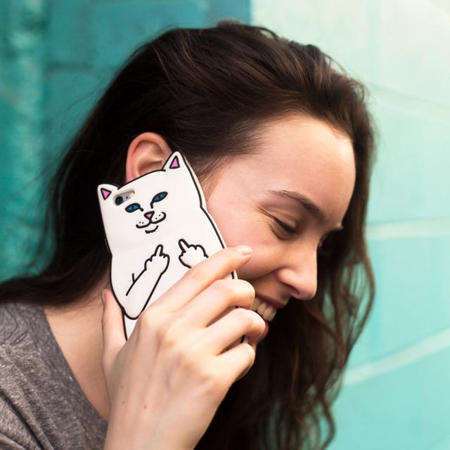 猫ちゃんのiphoneケースが話題のスケートブランドRIPNDIP #RIPNDIP
