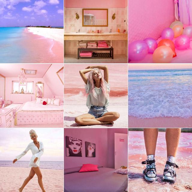 今年のトレンドカラー・ピンクをテーマに旅をしよう。 #pink
