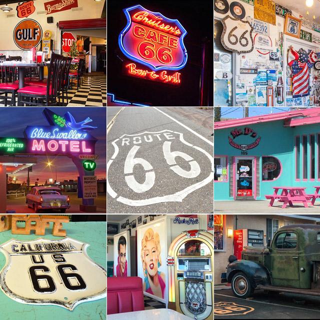 今年で90年を迎えるRoute66。歴史を感じるモーテルやダイナー #旅行計画 #route66