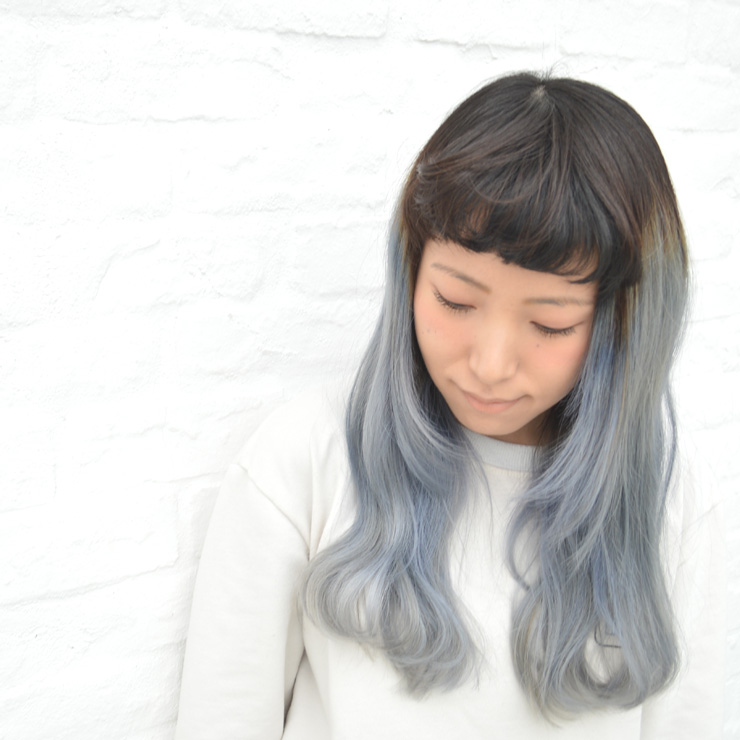 2016 Spring HairColor シンプルグレーヘア #grayhair