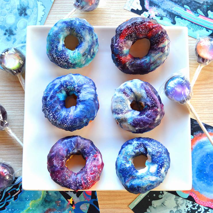 噂のギャラクシードーナツ作りに初挑戦 #galaxydonuts