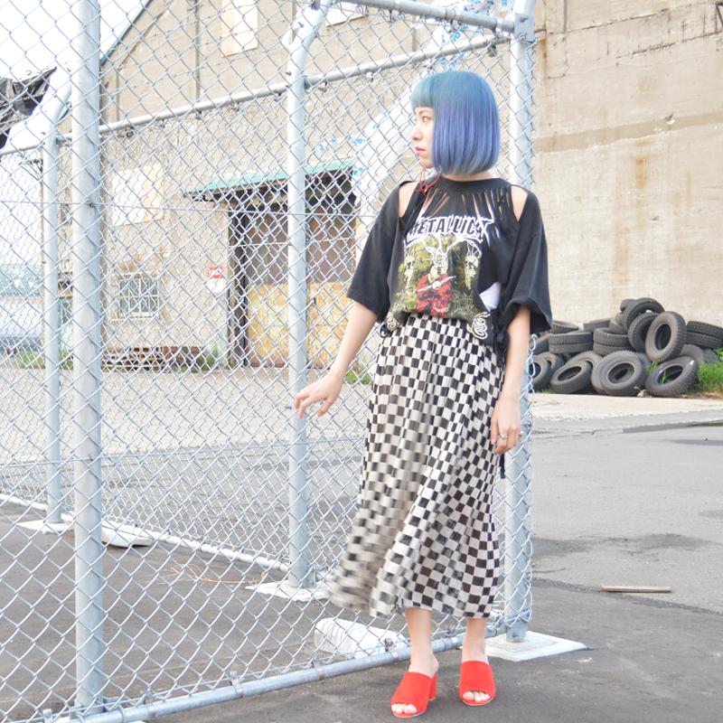 first summer style 初夏のバンドTシャツスタイル #ootd