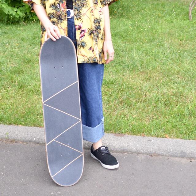 スケートを買ったらデッキテープの貼り方で遊んでみよう。#sk8 #skateboard