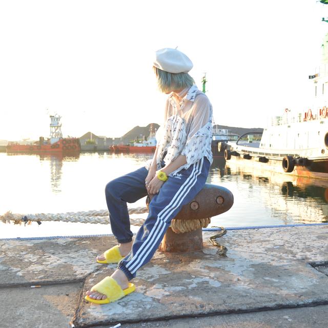 北海道の長く続いている夏 #港 #海
