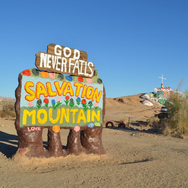 どのようなルートでサルベーションマウンテンを訪れてみる? #Salvationmountain #ロードトリップ