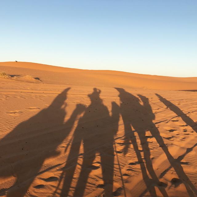世界最大の砂漠、サハラ砂漠。オリオン座と一生忘れられない夜。 #morocco #アフリカ #サハラ砂漠 #メルズーガ #放浪