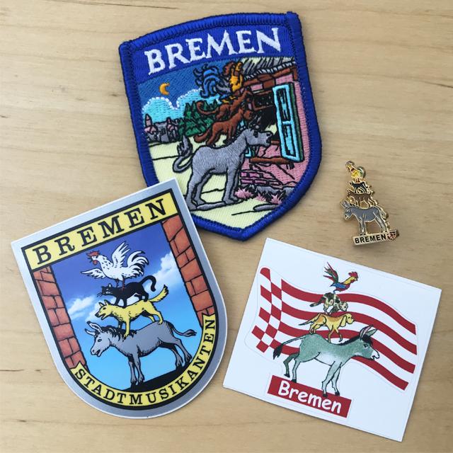 ブレーメンならではのご当地お土産がとてもかわいい #ブレーメンの音楽隊 #ドイツ #Bremen