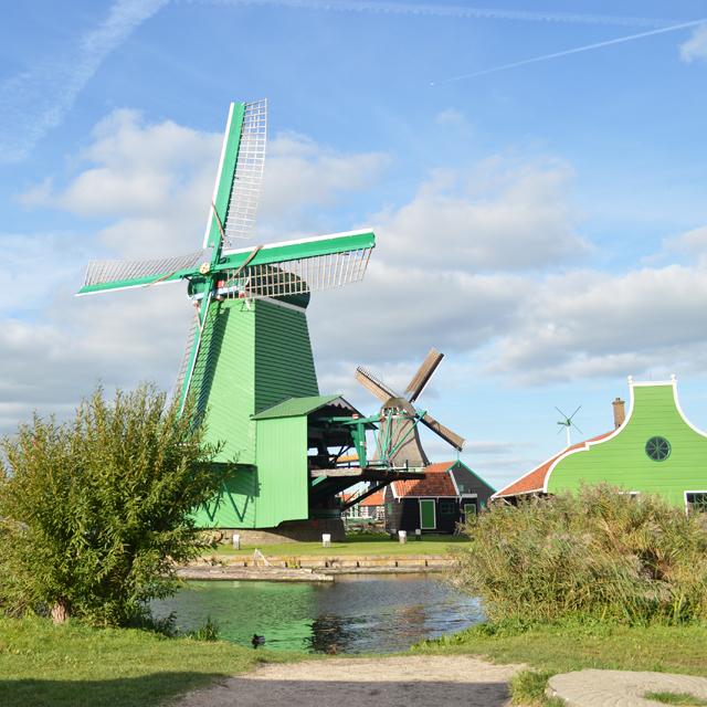 古き良きオランダの風景に出会う。アムステルダムから日帰りで行く癒しのザーンセスカンス風車村 #オランダ #Netherlands