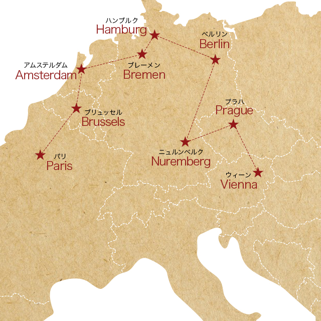 アプリひとつで格安ヨーロッパ周遊。約2週間で6カ国旅した私のおすすめバス会社 #FlixBus