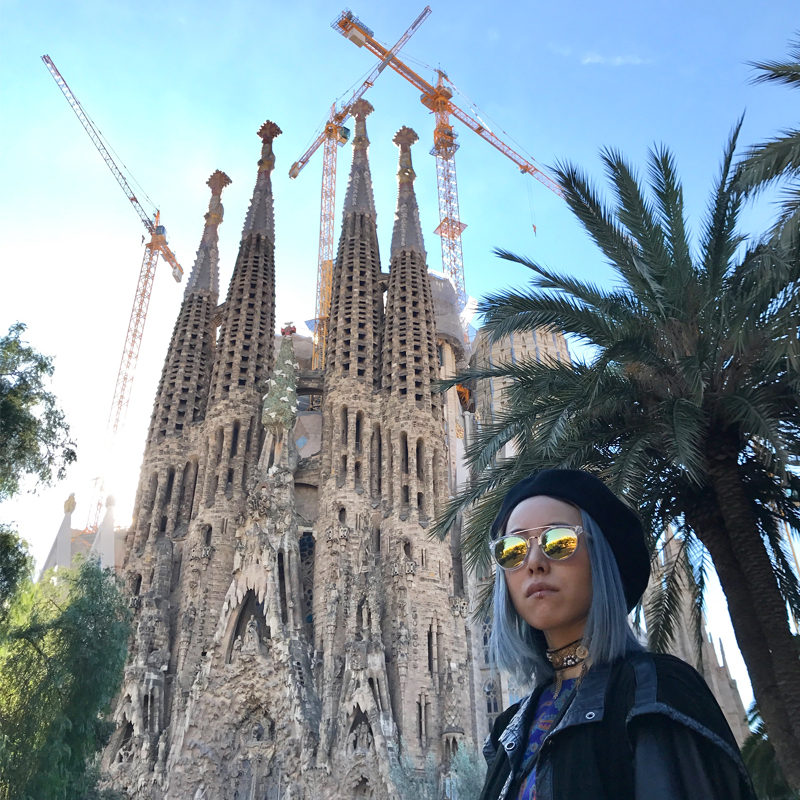 わたしのサグラダファミリアの楽しみかた #バルセロナ #ガウディコード