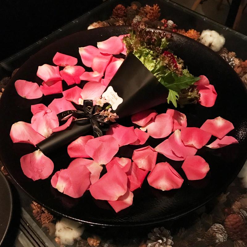 フラワーデザイナーがプロデュース。お花の力が溢れた心身ともに癒されるレストラン #札幌グルメ #ganon