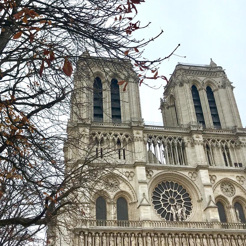 火災に見舞われたノートルダム大聖堂の思い出 #パリ