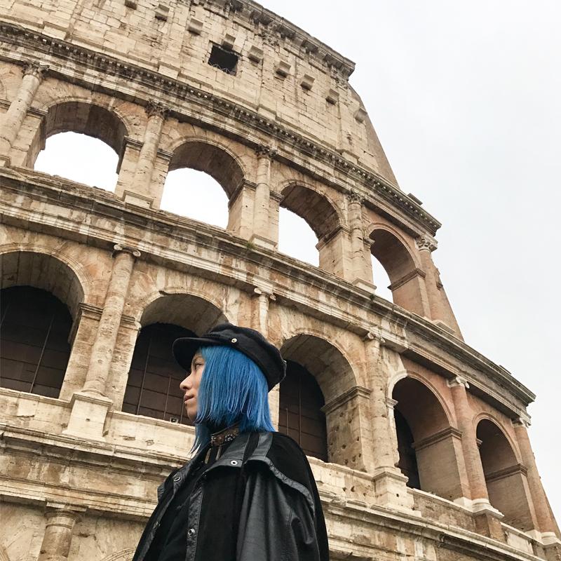時空を超えた空気に圧倒される。古代ローマの象徴コロッセオの凄まじさ。 #ローマ