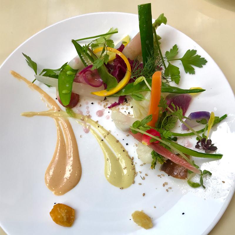 北海道産の新鮮な野菜を堪能出来るフレンチレストラン #アスペルジュ #美瑛  #北海道