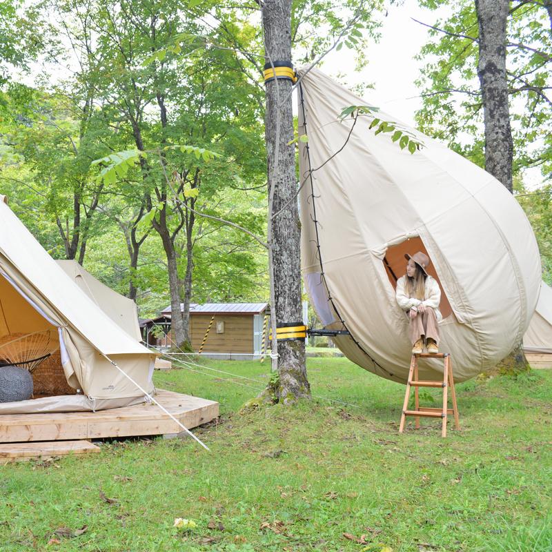 日本初のまゆテントも!最新アウトドアサウナと注目グランピング施設が登場! #北海道 #上川町