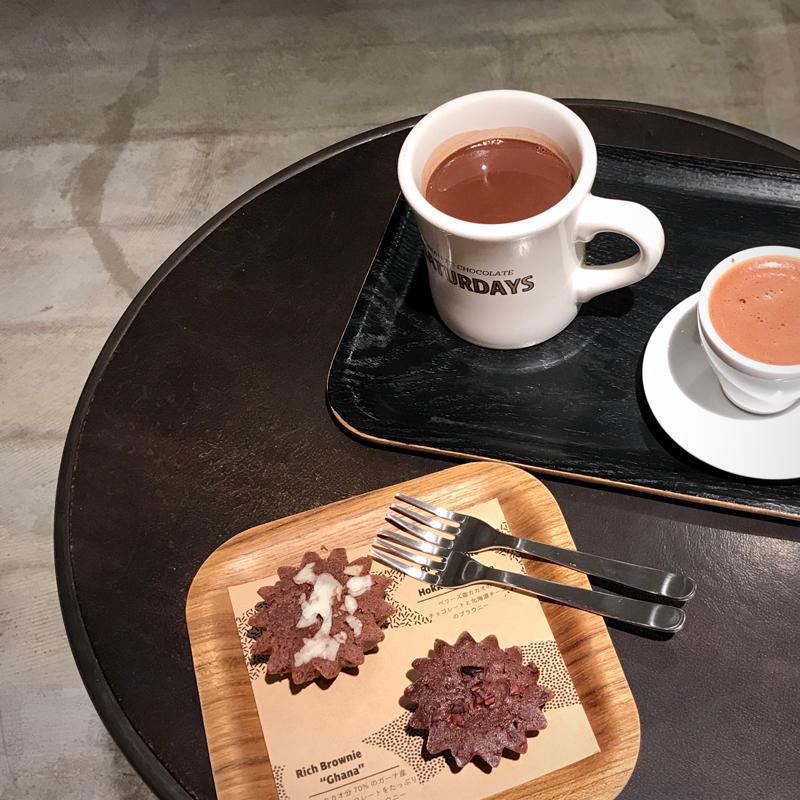 オールカカオ!カカオのお茶で割ったチョコレートティーが新しい #札幌 #北海道