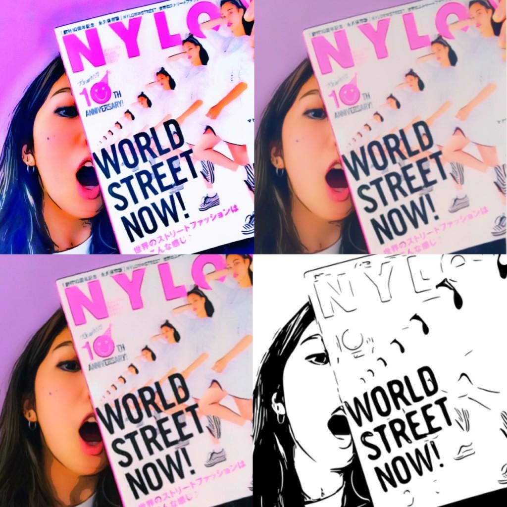10周年記念SP号NYLONお気に入りページ&スタイリング!