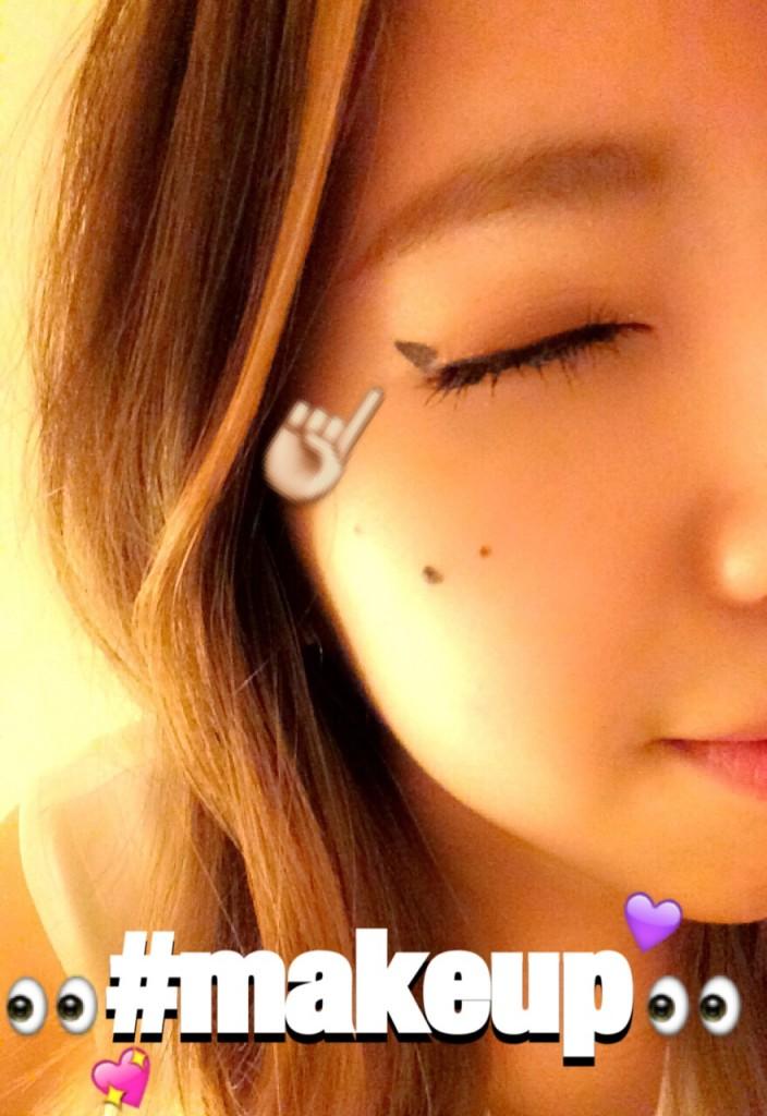 パーティーメイクアレンジ!三角アイライン△▼!#makeup #tutorial