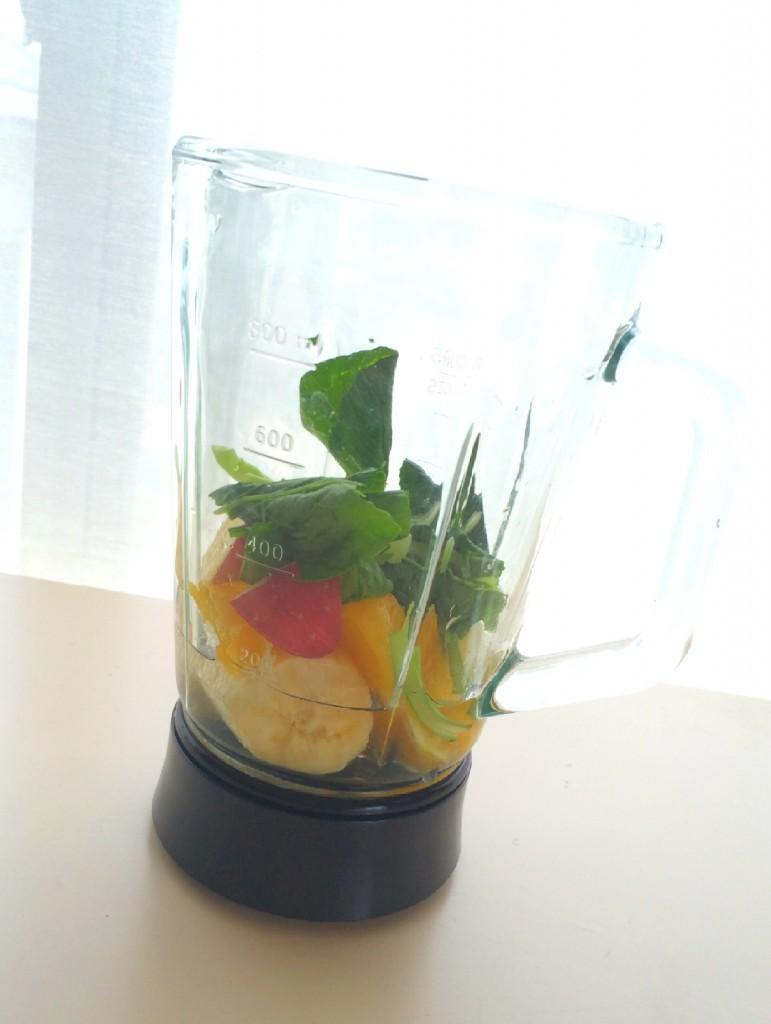 毎朝のお供のグリーンスムージーの簡単レシピ&飲むようになって変わったこと♥! #SmoothieLife