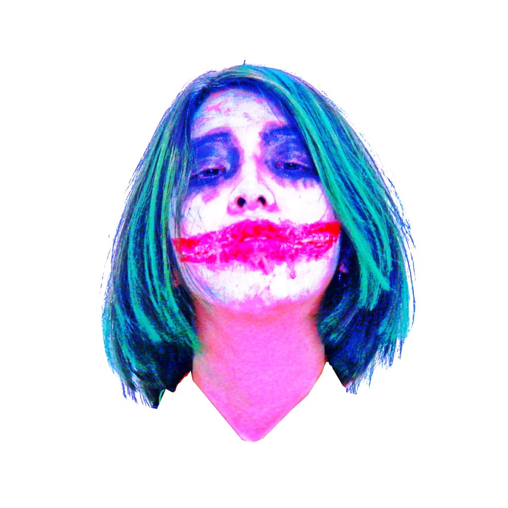 Why So Serious?一足先に #CheeksTOKYO のHALLOWEEN企画の撮影でJOKERに本気仮装! #特殊メイク