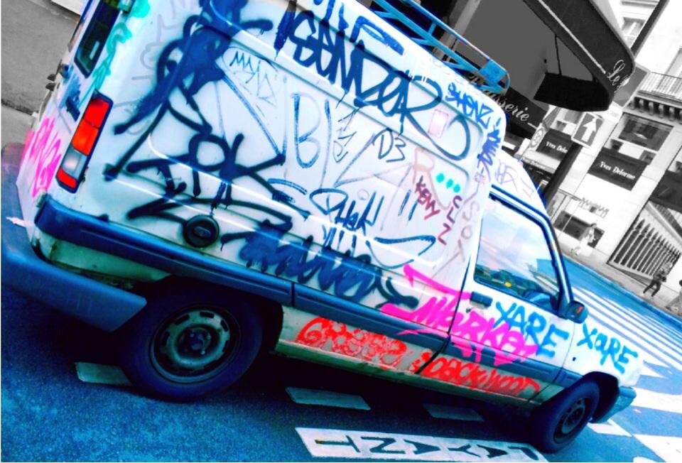 パリとロンドンの #Graffiti と #StreetArt が超ハイセンスでユーモラス!実際に撮影してきたよ。