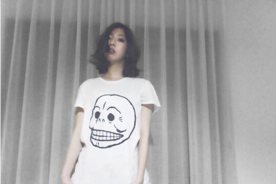 #CHEAPMONDAY な #TUESDAY を♡ 流行に左右されないこのスカルTシャツ、メンズもあってオススメです。 #fashion