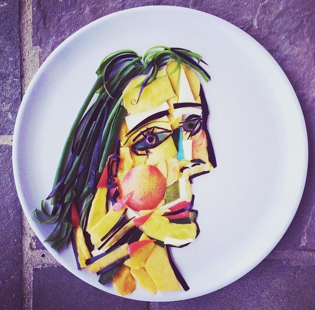 「食べ物で遊んじゃいけません」なんてルールはもう終わり!革新的最新 #ART に脱帽。 #HarleyLangberg