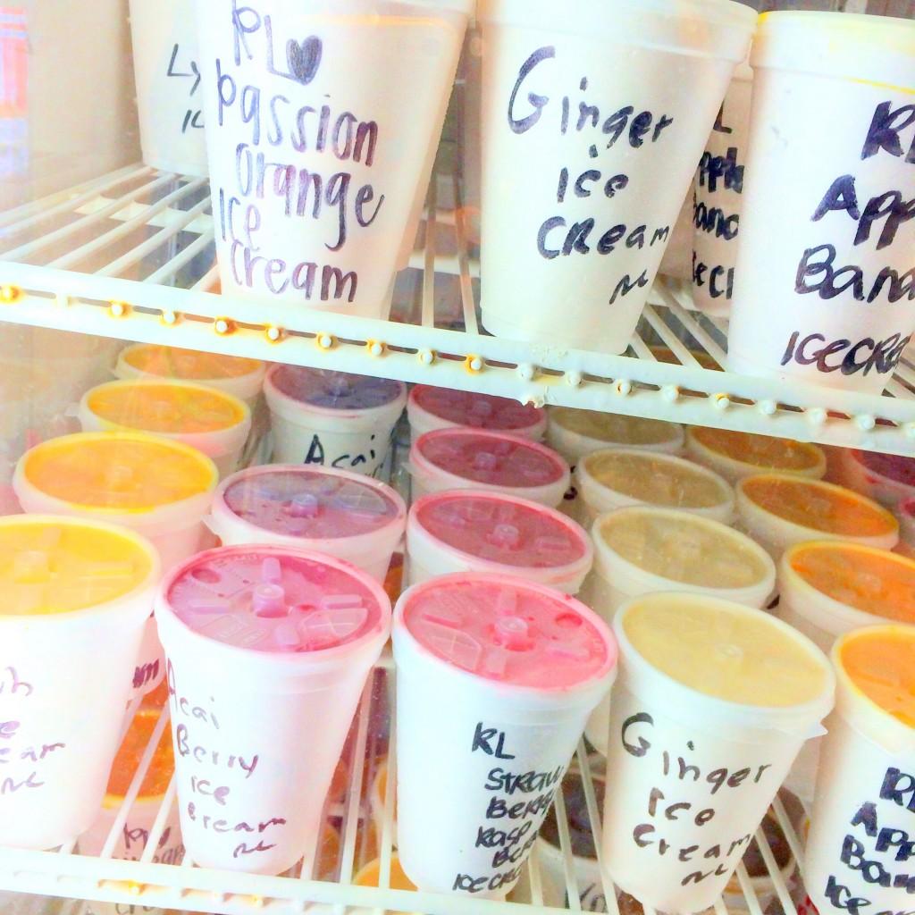 どんなにハードルを上げても超えてくる絶品手作りアイスが食べられる #高橋果実店❤︎ #HAWAII