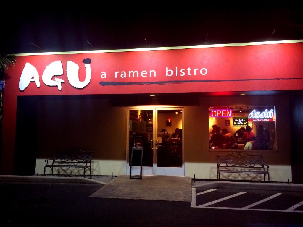 """海外でこの味が!?ラーメンビストロ #AGU の """"SPICY TONKOTSU""""に感動。 #HAWAII"""