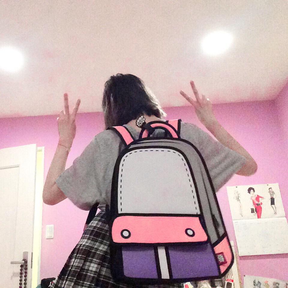 紙の世界から飛び出てきた不思議なバッグは #JumpFromPaper でGETすべし! #AW → #TeenSpirit ♡