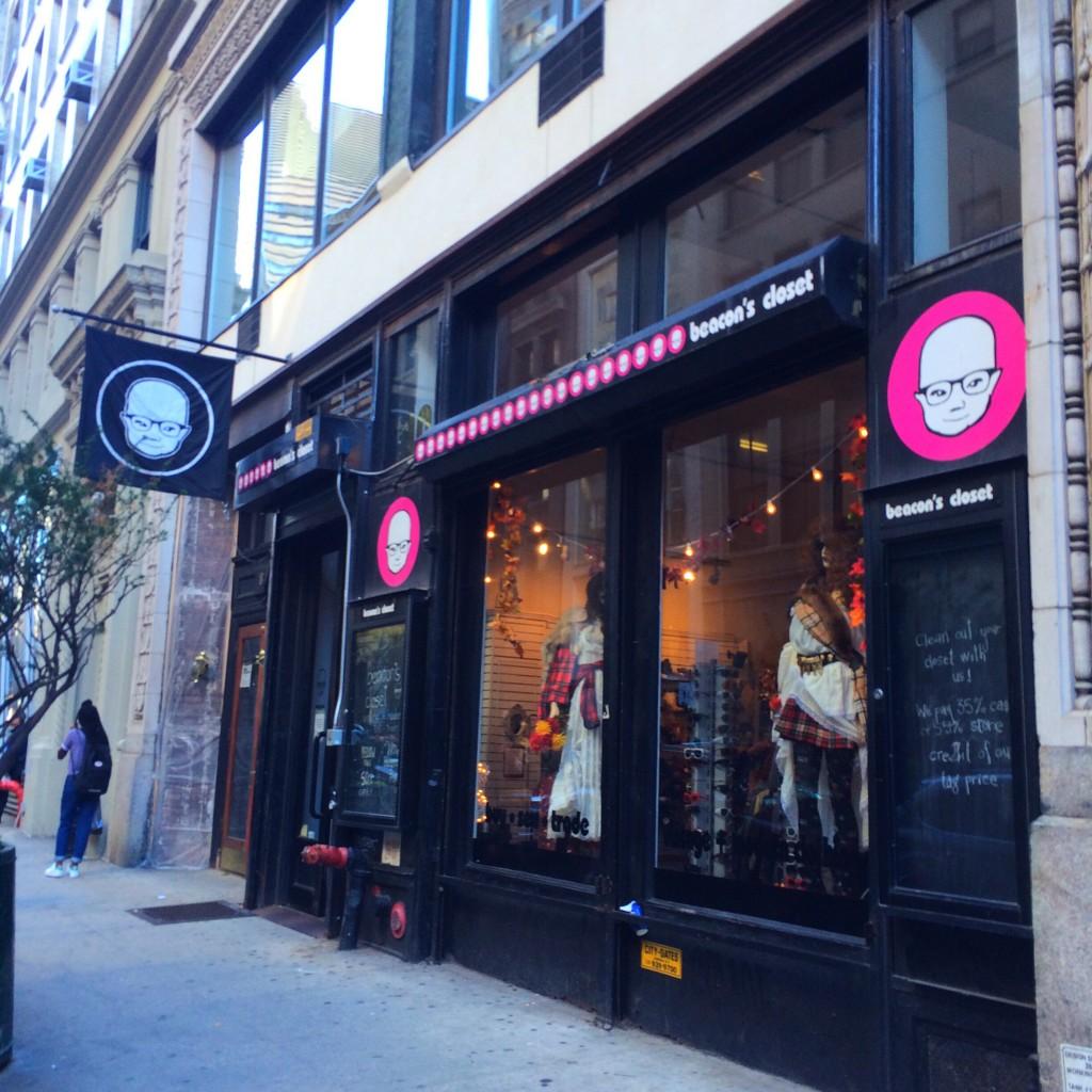 ヴィンテージ好きなら絶対に行くべきbeacon's closet♡ #NY #古着 #購入品