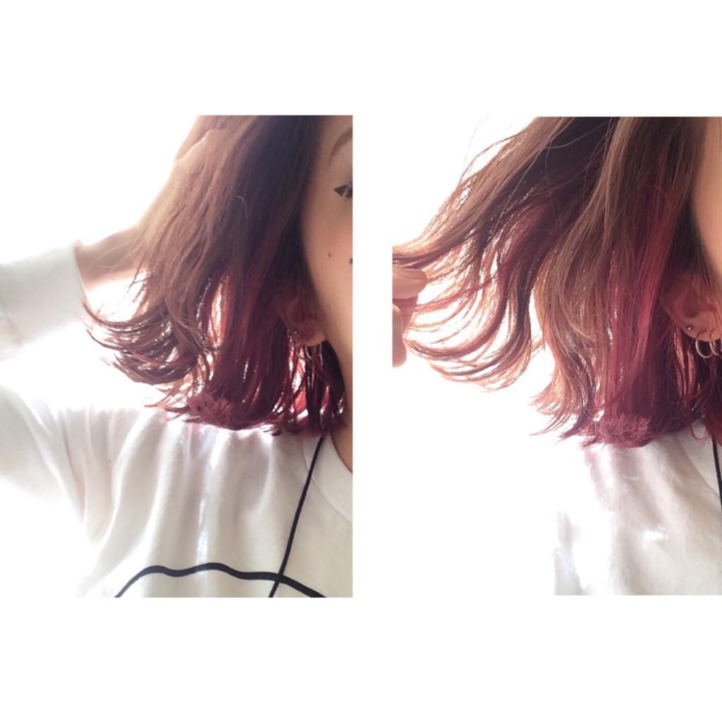 毛先の束感、ツヤ感を出したい時に使うオイル、付けるタイミングも大事! #hairstyle