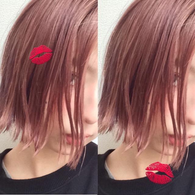 回り回って#ストレートヘア の万能さに気づいてしまったの巻。 #hairstyle #dyehair