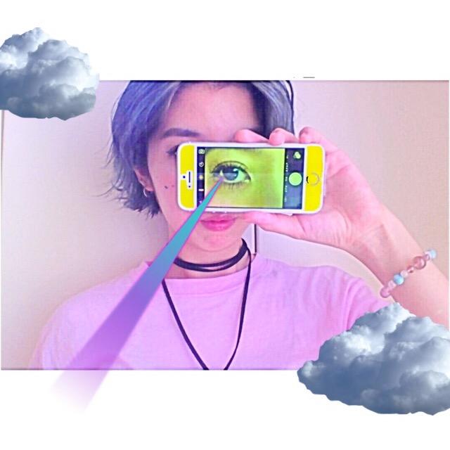 #MacBook の #Photobooth を使ってコラージュな #SELFIE が撮れるぞ!みんな! #ART