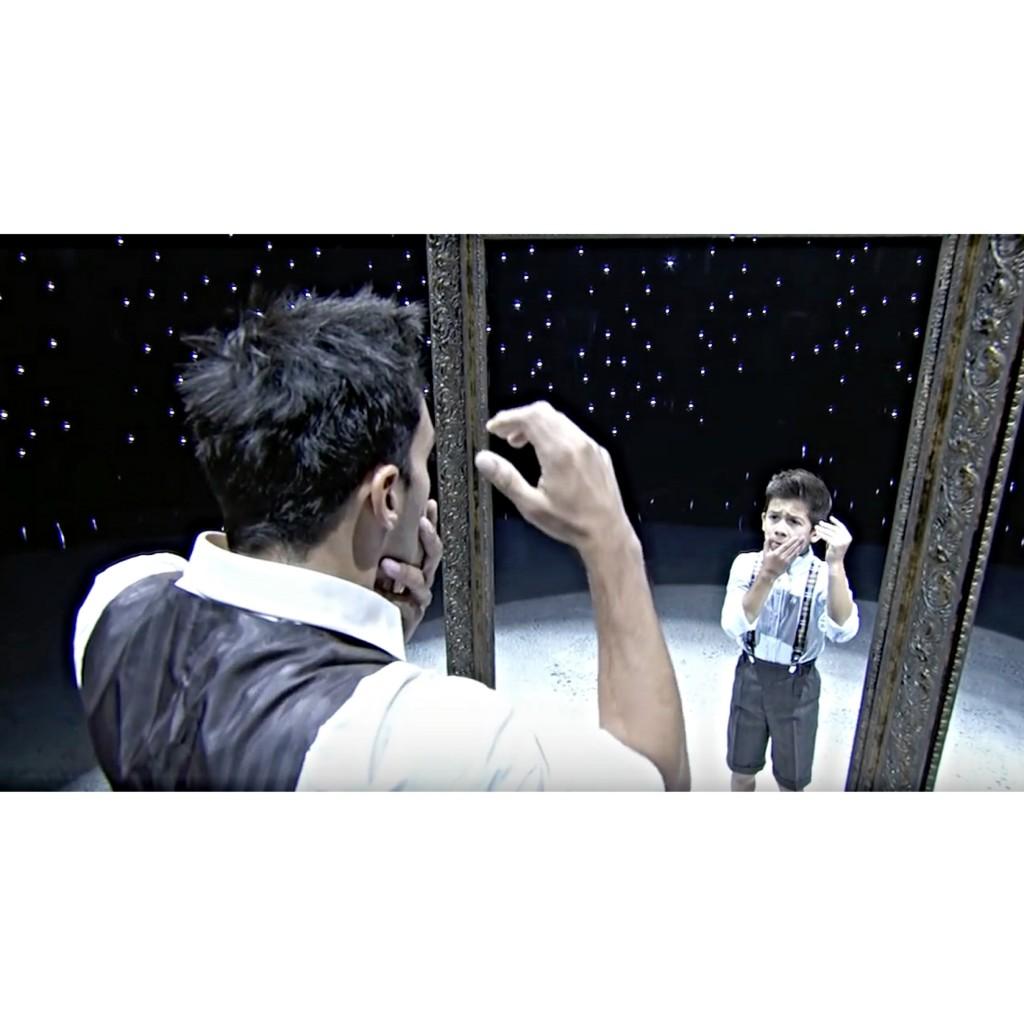鏡を覗くとそこには子供時代の自分が居た…。見終わった瞬間に鳥肌が立つ、不思議で美しい #DANCE は絶対チェックして!
