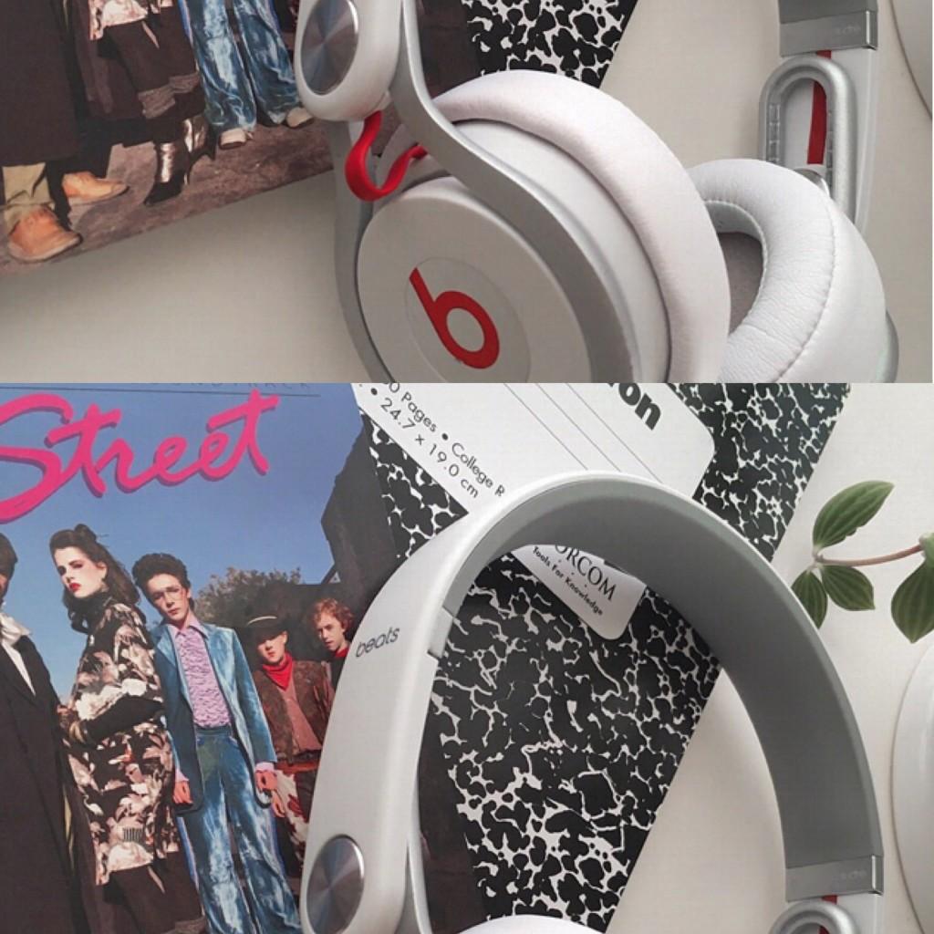 私の本気の愛用品:ヘッドホン編♡ 家でレコーディングする時にも使ってます。 #BeatsbyDrDre