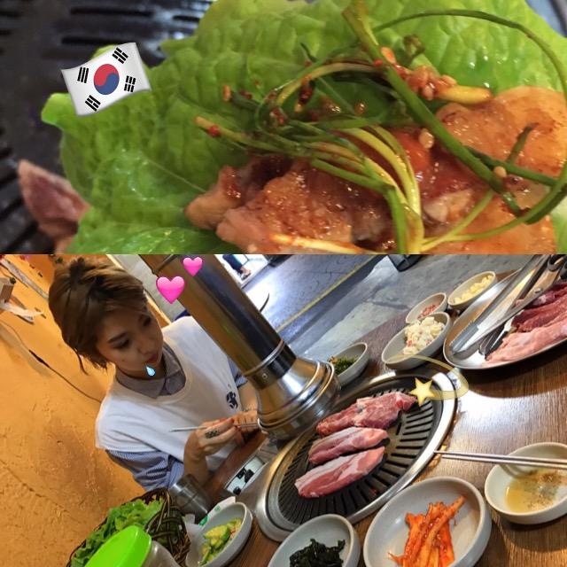 #韓国 #梨泰院 24時間OPENの穴場な名店♡精肉店が経営するこだわりの生 #サムギョプサル がとにかく絶品! #foodporn #이태원