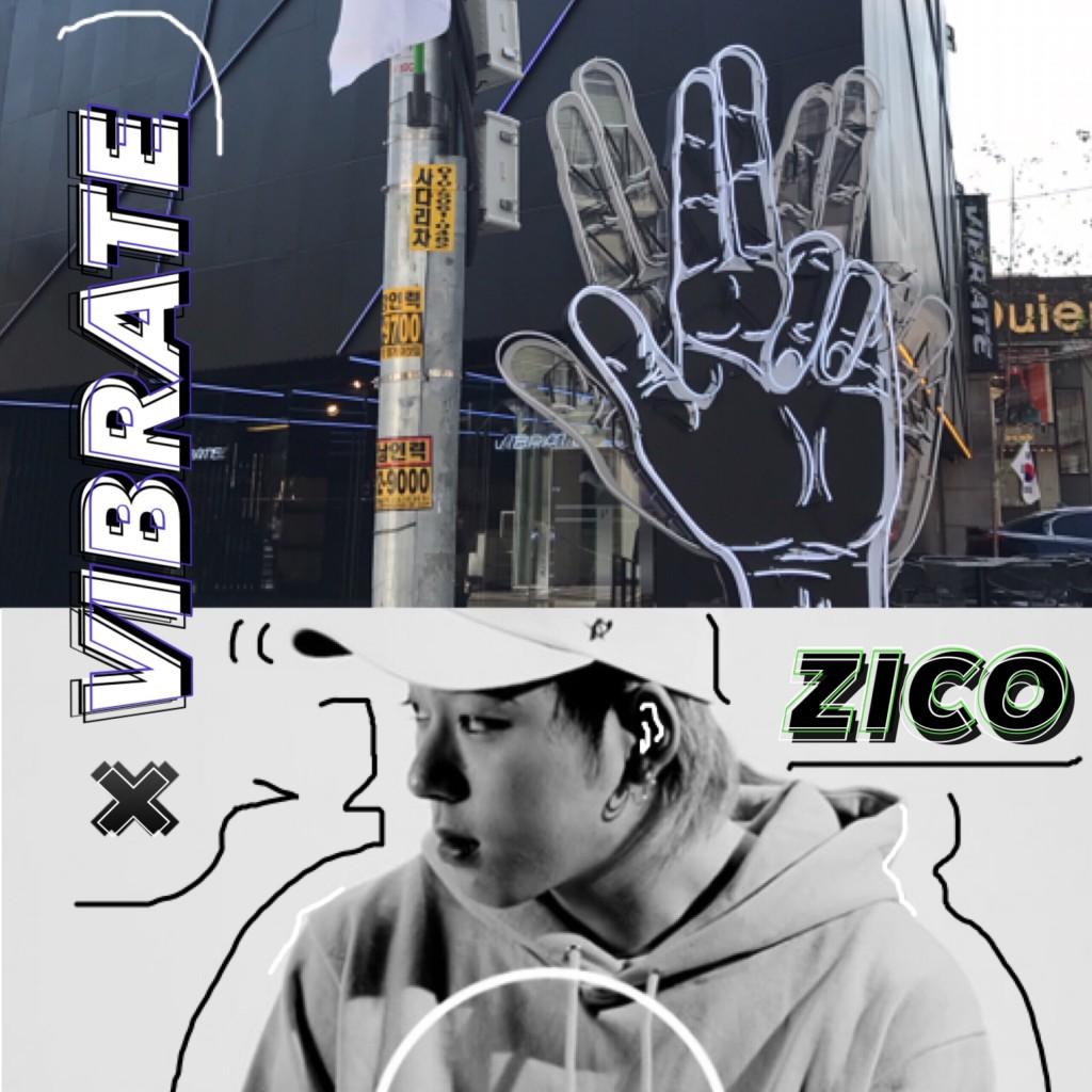 #ZICO とのコラボで話題な #VIBRATE !実際に #韓国 のお店に行ってみたの巻!&サイン入りアイテムの応募は完了した♡? #BlockB #FASHION
