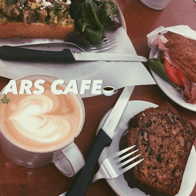 この春OPENしたばかり♡上質な #COFFEE +手作り #GELATO + ART GALLERYが楽しめるUKスタイルの #ARSCAFE 、かなりオススメ。