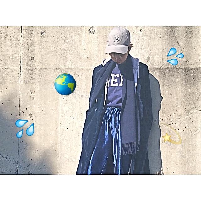 改めて知っておきたい同系色コーデのポイントと、ジャージを大人っぽく着る方法♡ #OOTD #PEPPERONIBOYZ