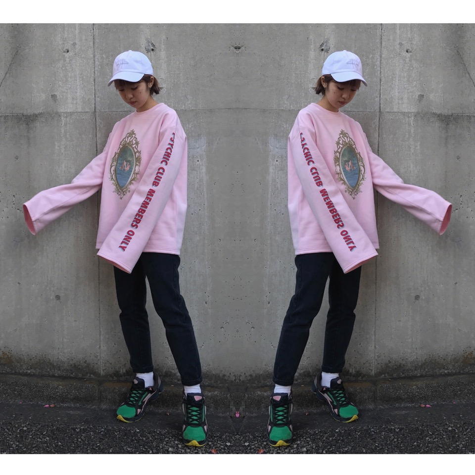 #OOTD オーバーシルエットの #スウェット を着るときに気をつけたいポイントは2つ! #BUBBLES × #NYLON