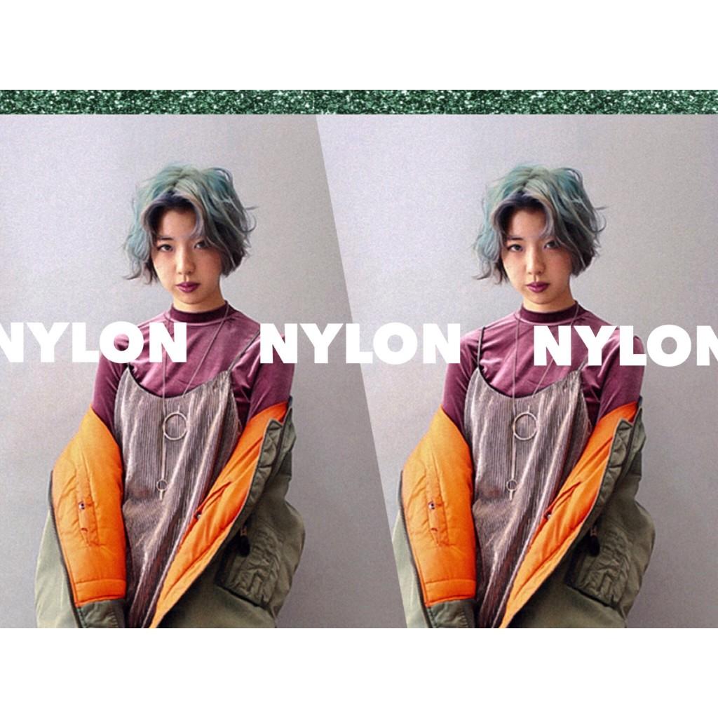 #NEWYEAR #PARTY はNYLON流ヘアメイクをアレンジして楽しむべし♡ #ラメリップ #ハート前髪